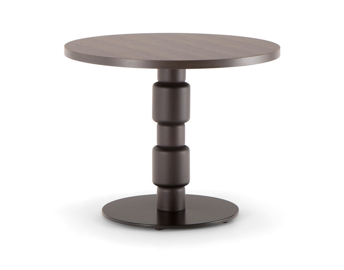 BERLINO TABLE 080 H54 T, Side table with round top