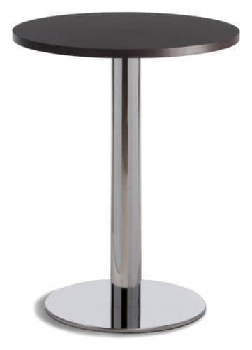 Caffè, Bar table, metal base, round top