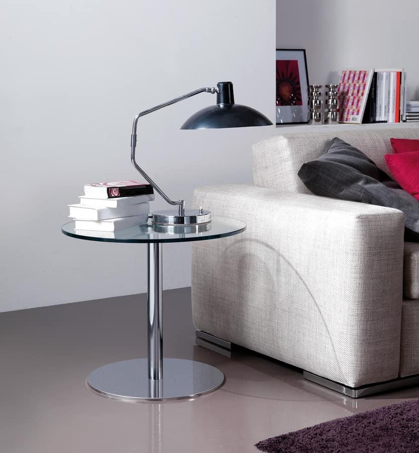Jolly, Modern tables with laminate top, for Hotels