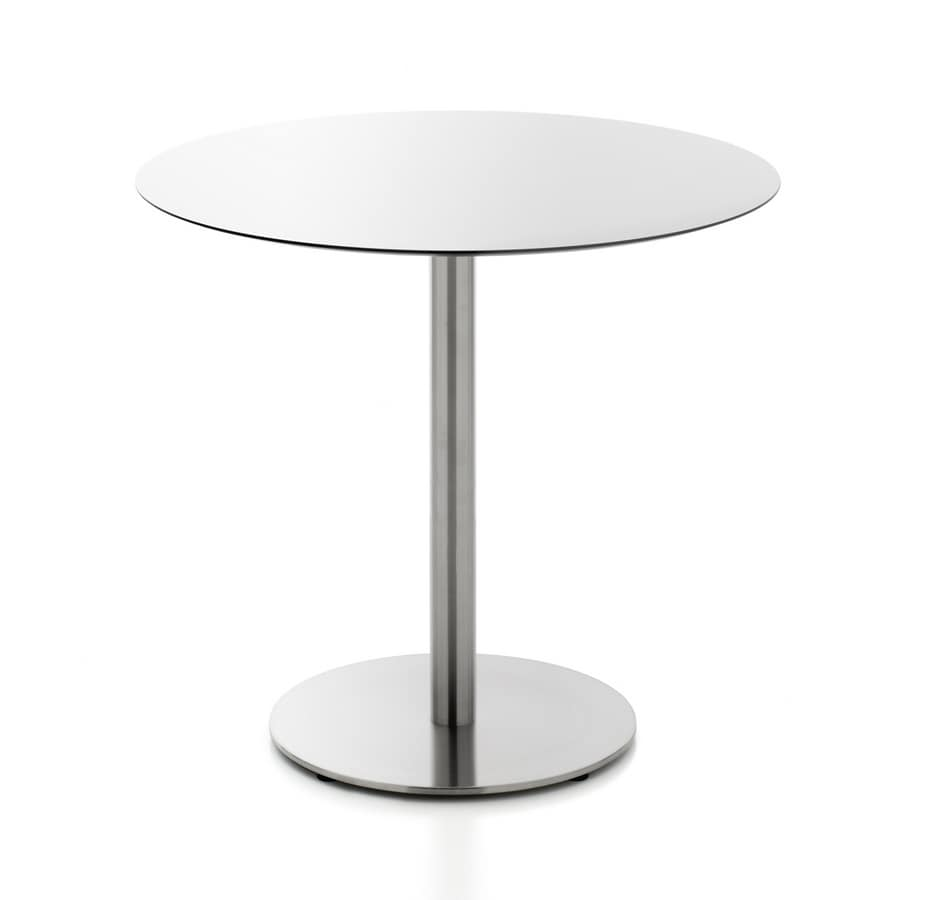 Kaleox 74, Bar tables, round or square, in HPL