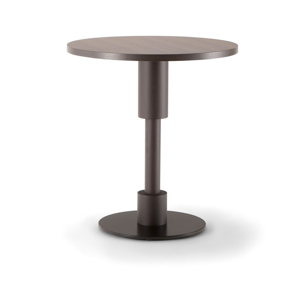 ORLANDO TABLE 081 H75 T, Table with refined and modern lines