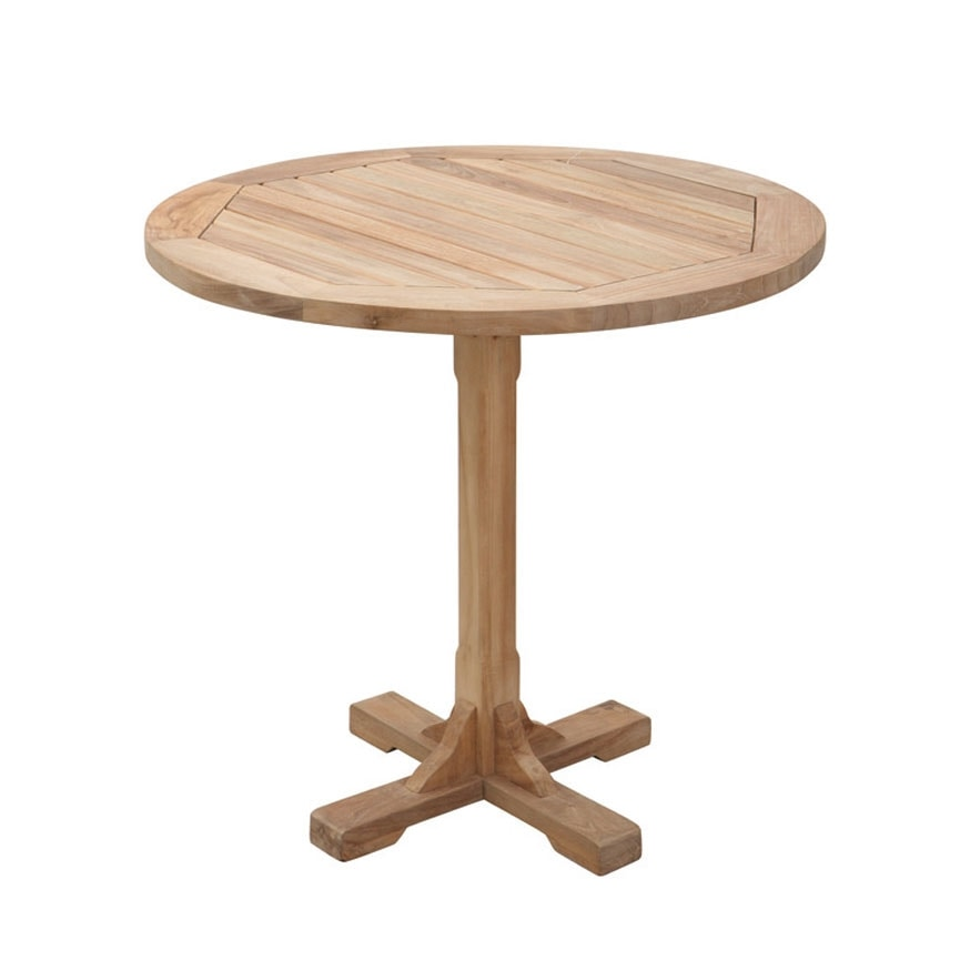 Regista 0701, Single leg table, round, for outdoors