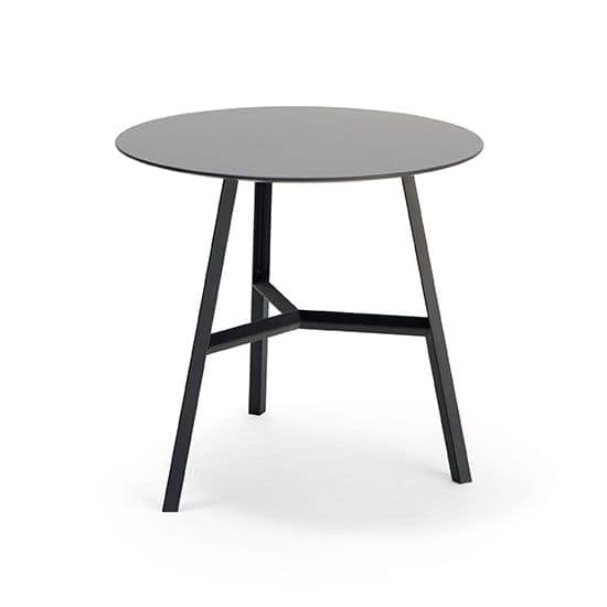 Tool, Round table with three legs, essential, for bars