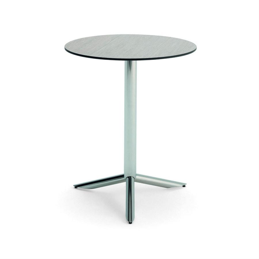Vortice T, Round bar table