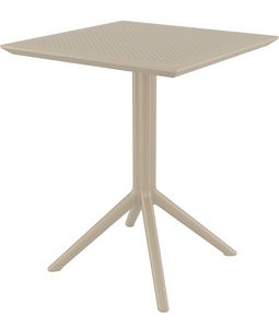 Bistrot-Fold, Outdoor table with folding top