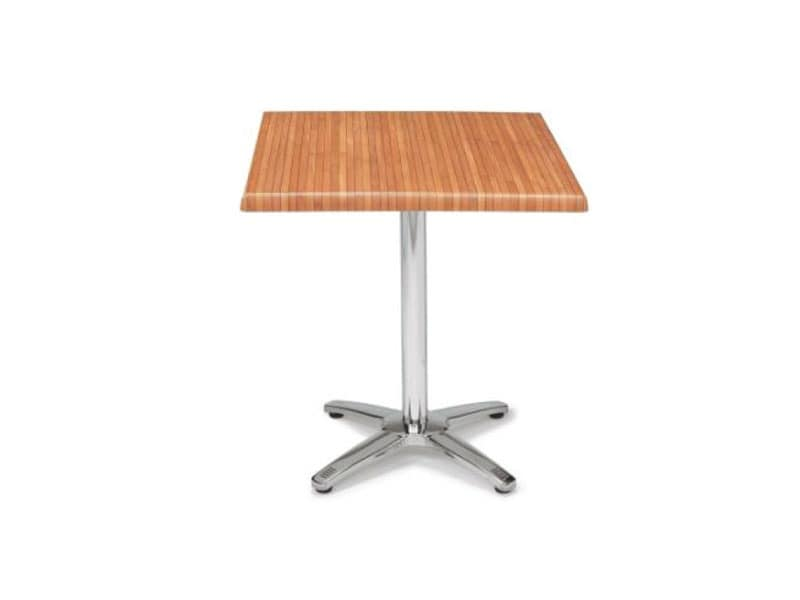FT 048, Folding bar table, square werzalit top