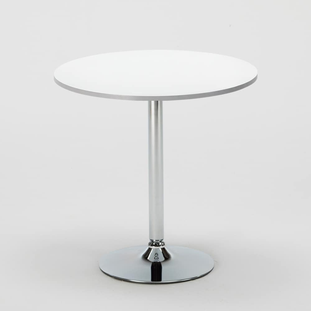 internal coffee table – BIS70, Bar table, with steel mirror base