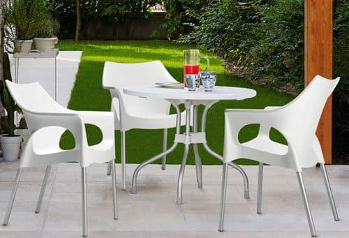 Ribalto Top, Table for outdoor with reclining top