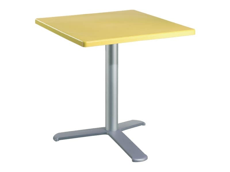 Table 80x80 cod. 23/BG3L, Weather-resistant table for outdoor restaurant