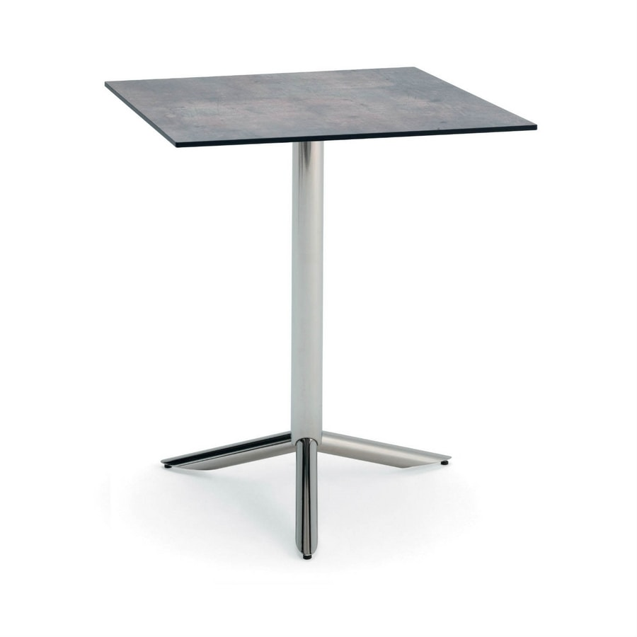 Vortice Q, Table for contract use, square top