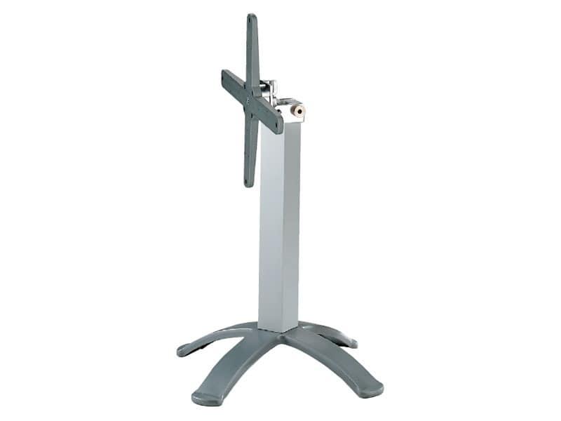 4 ped base cod. BGPJ, Metal folding frames for bar tables