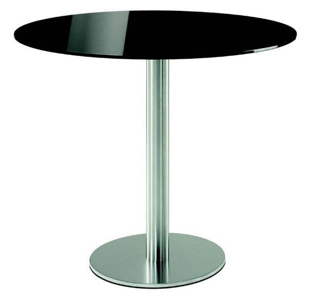4411 Inox, Round base for tables