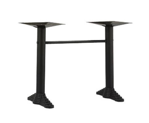 910, Bases for bar table, with 2 metal columns