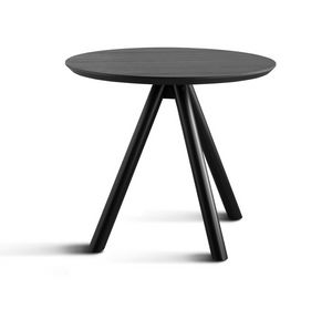 ART. 0098-3 CONTRACT, Table base in wood, with three legs