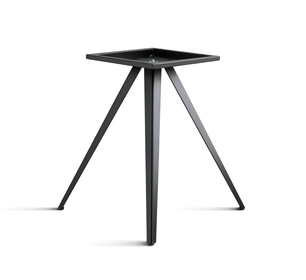 ART. 0099-3 CONTRACT, Three legs base, for restaurant and bar tables