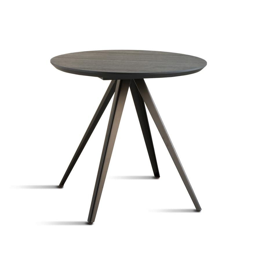 ART. 0099-4 CONTRACT, Metal base for contract tables
