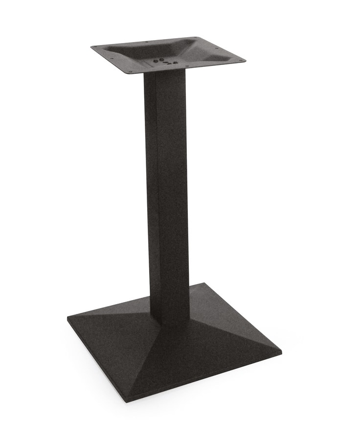 Art. 1031 Piramide, Table base in cast iron