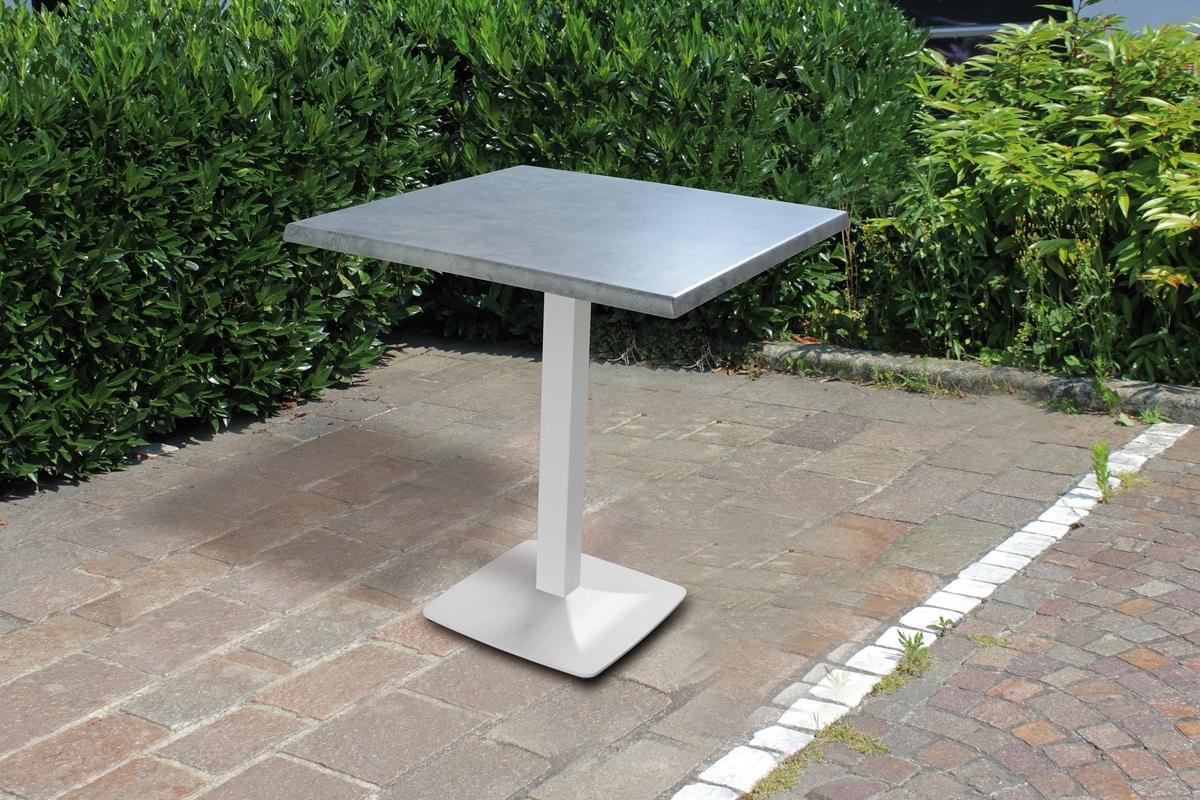 Art. 1033 Vulcan, Outdoor table base in steel