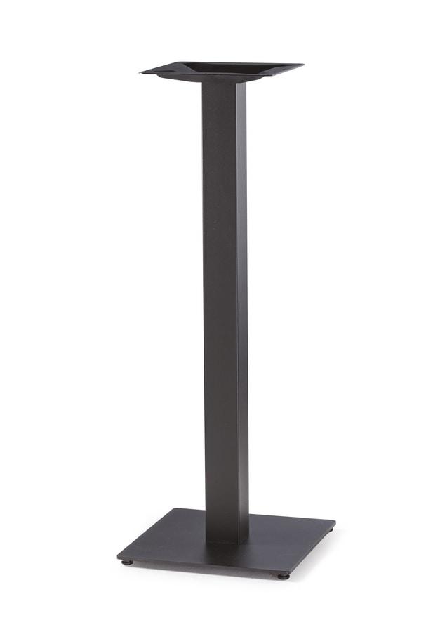 Art. 1034 Piatta snack, Base for high tables, in black cast iron