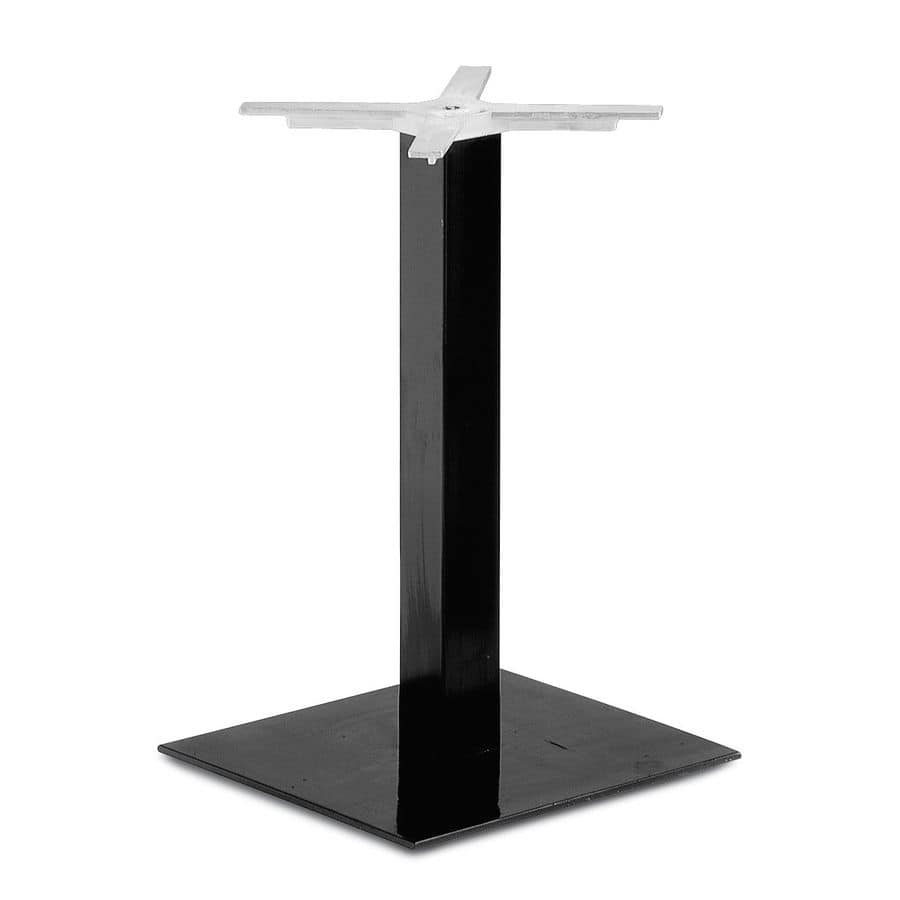 Art.210, Squared table base suitable for contract and domestic use.
