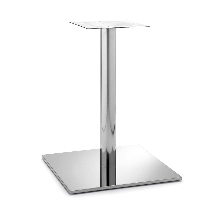 Art.256, Squared table base suitable for contract and residential use