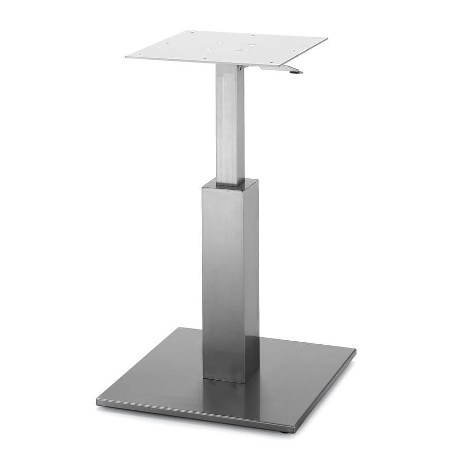 Attrayant Art.260/GAS, Squared Table Base With Gas Lift Adjustable Height