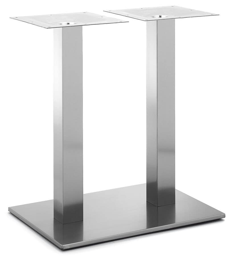 Art.265, Metal double base for rectangular tables