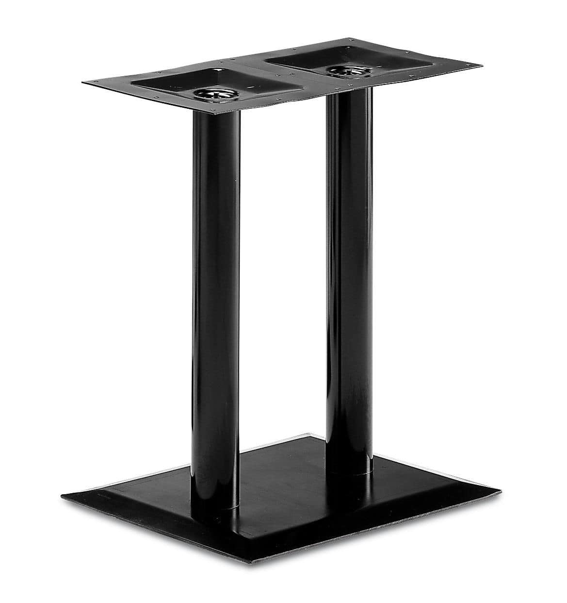 Art.280, Rectangular table base, metal frame, for contract and domestic use