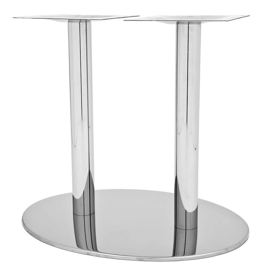 Art.295/EL, Elliptical table base developed for big table tops