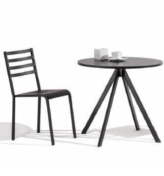 Art.Split, Table base with futuristic and geometric lines