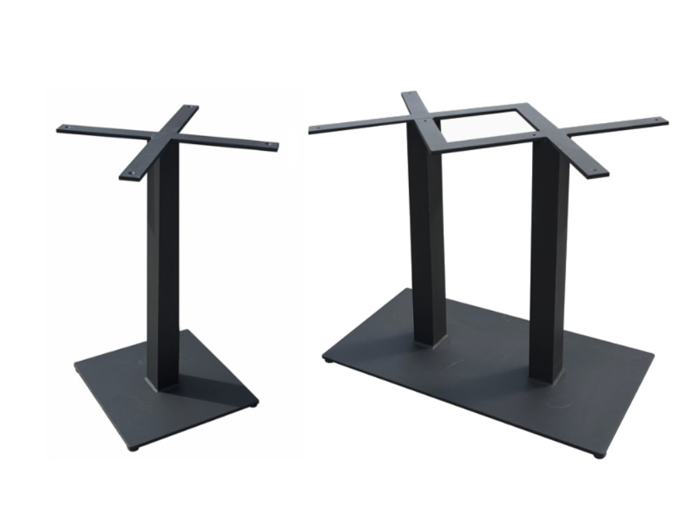Bar, Iron bases for bar tables