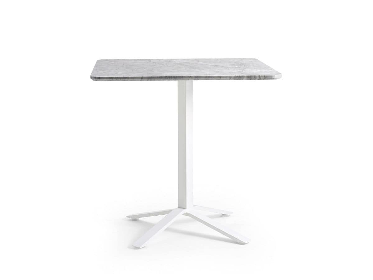 Blade, Bar table base, for outdoors, matchable with different tops