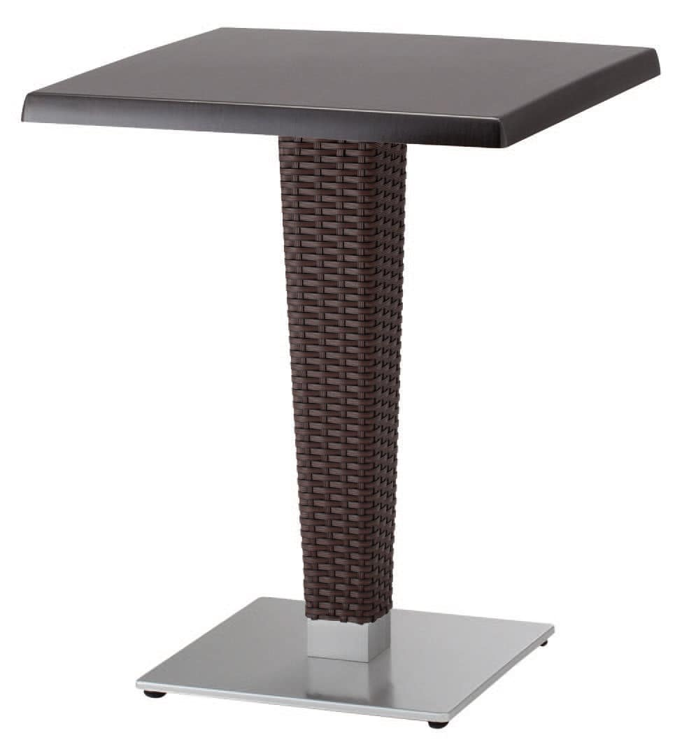 FT 2027, Woven base for table, in cast iron and aluminum