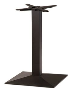 FT 714, Table base in black cast iron