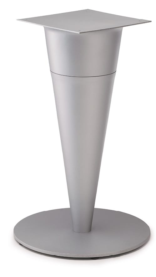 FT CONO 2, Table base in painted sheet metal