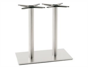Inox.R 686, Double base for restaurant table