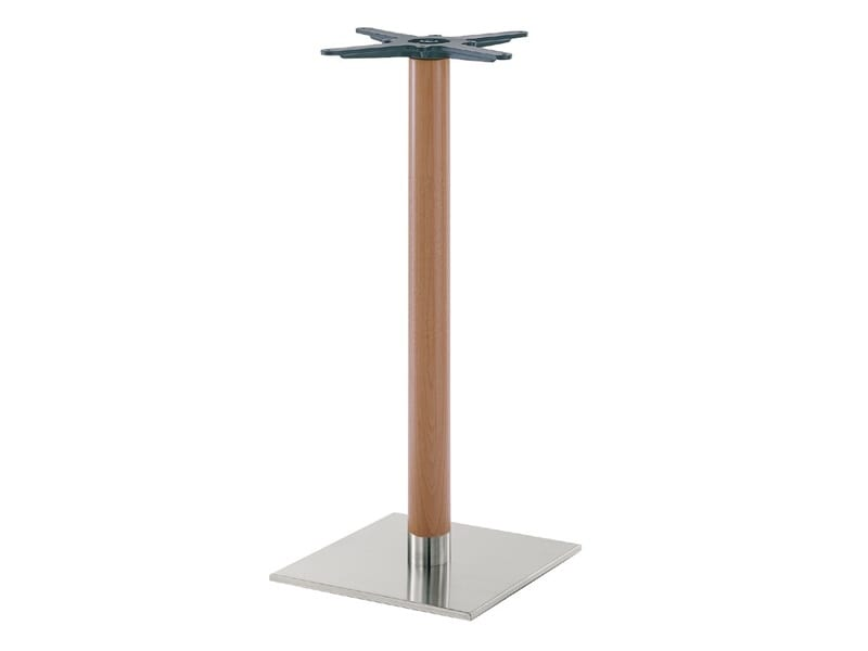 Inox.R 688, Base for high tables, for cocktails