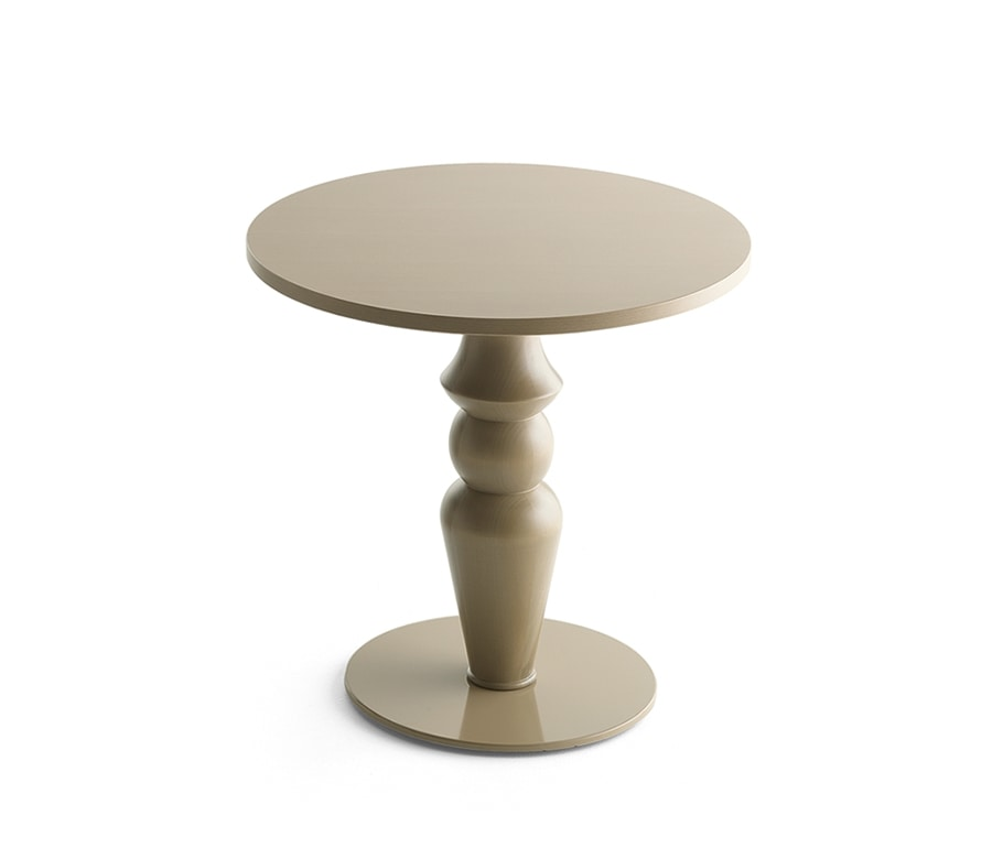 Michelle 8001, Base for table, in turned solid wood