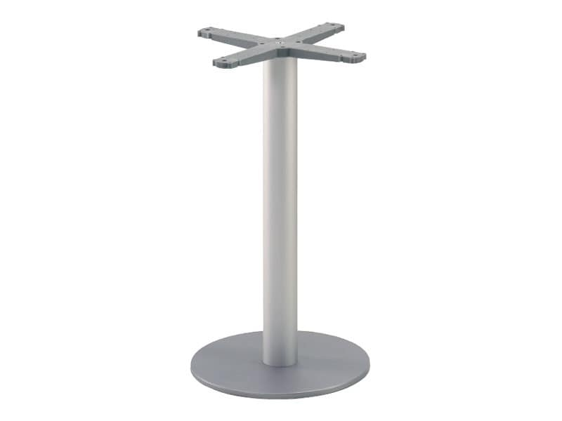 Round base cod. BRK, Shaft for metal table, for confectionery and ice cream parlors