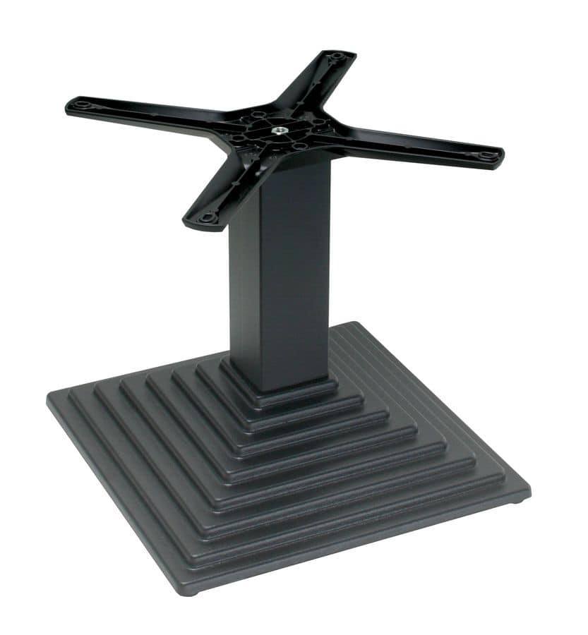 TG03 H.46, Cast iron base for low table, for contract use