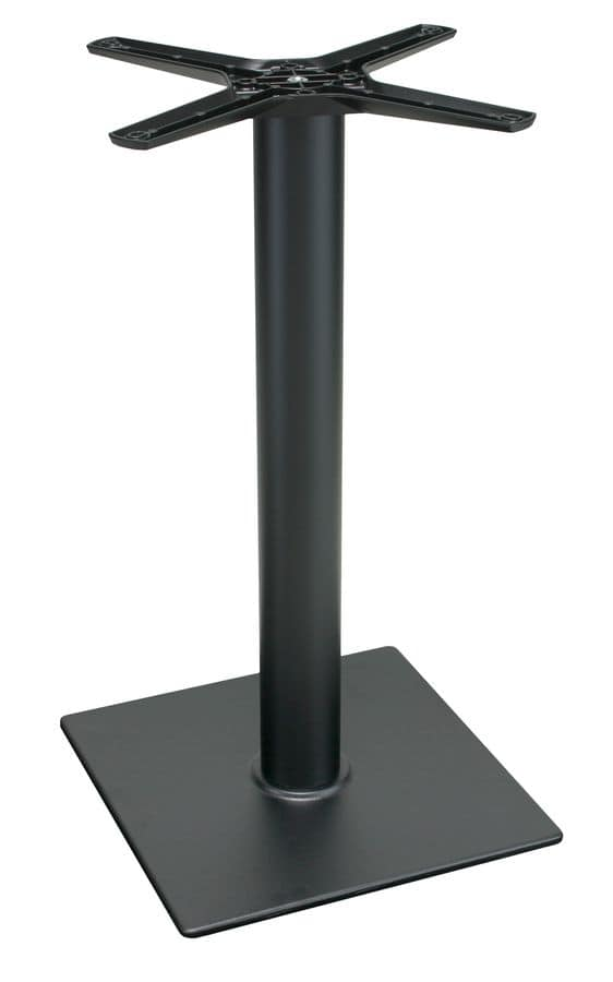 TG11, Table base in black cast iron, for bars and restaurants
