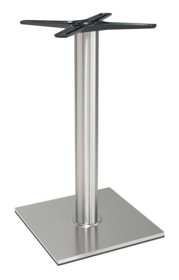 TG21, Aluminum base for table, for cottages, taverns, fast foods