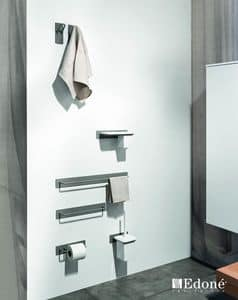 Filo 3179-3188, Towel rail and brush holder, available in various colors