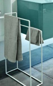 Filo 3818, High towel rail, available in various colors