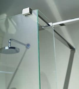Nike 329-5, Wall-hung rectangular support for showers