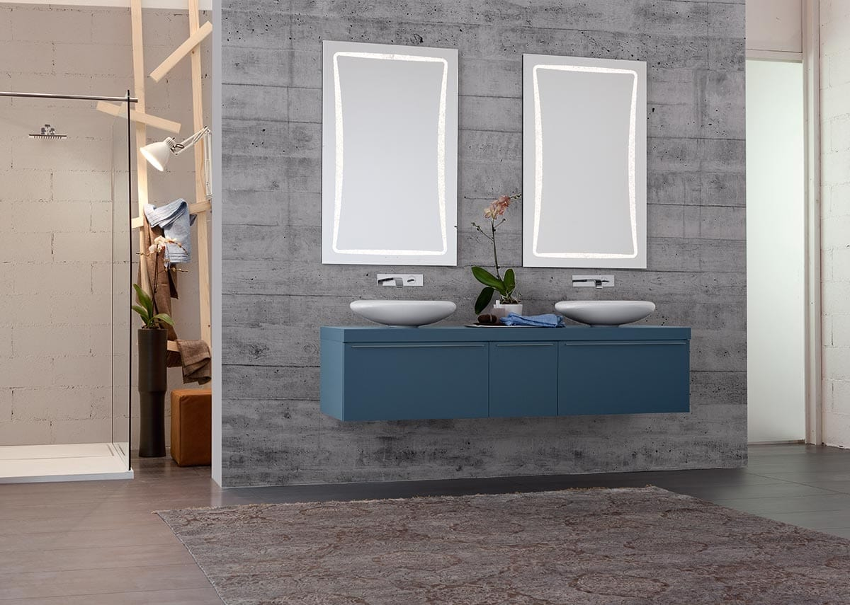 Bathroom Cabinet With Double Sink And
