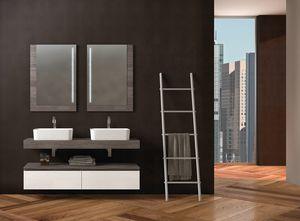 COMPONIBILE 04, Double modular vanity unit