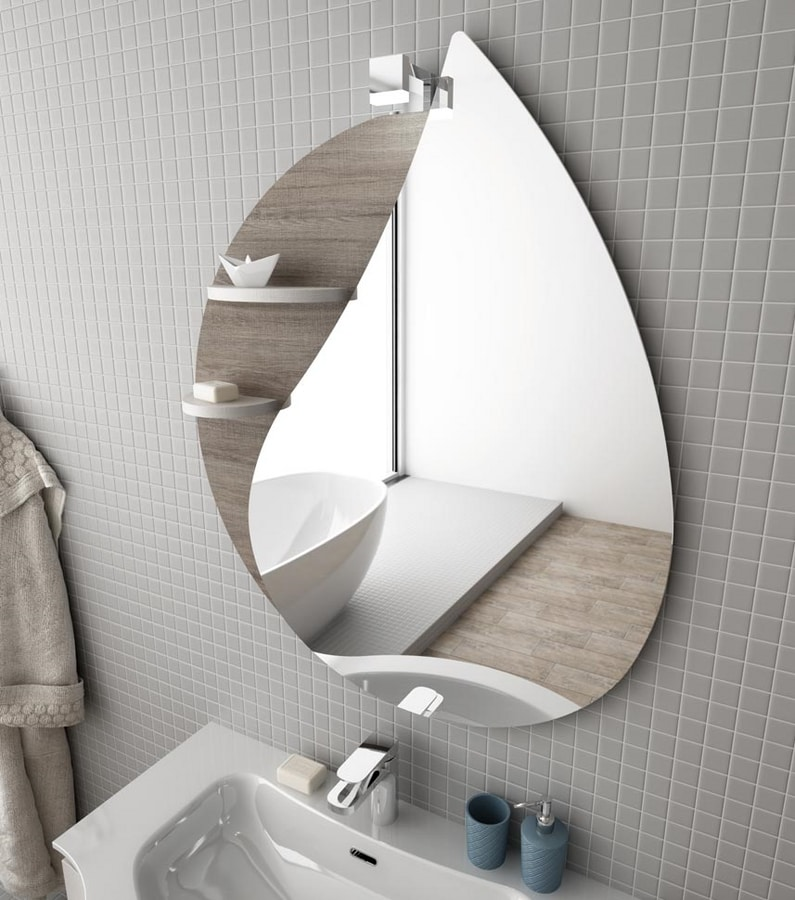 COMPONIBILE 8, Double wall-mounted vanity unit with drawers