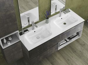 Torana TR 022, Bathroom cabinet with two washbasins