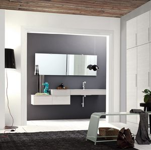 Byte 2.0 comp.11, Bathroom cabinet also suitable for people with disabilities